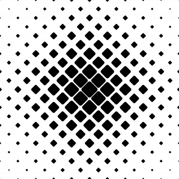 626x626 Monochrome Square Pattern Background
