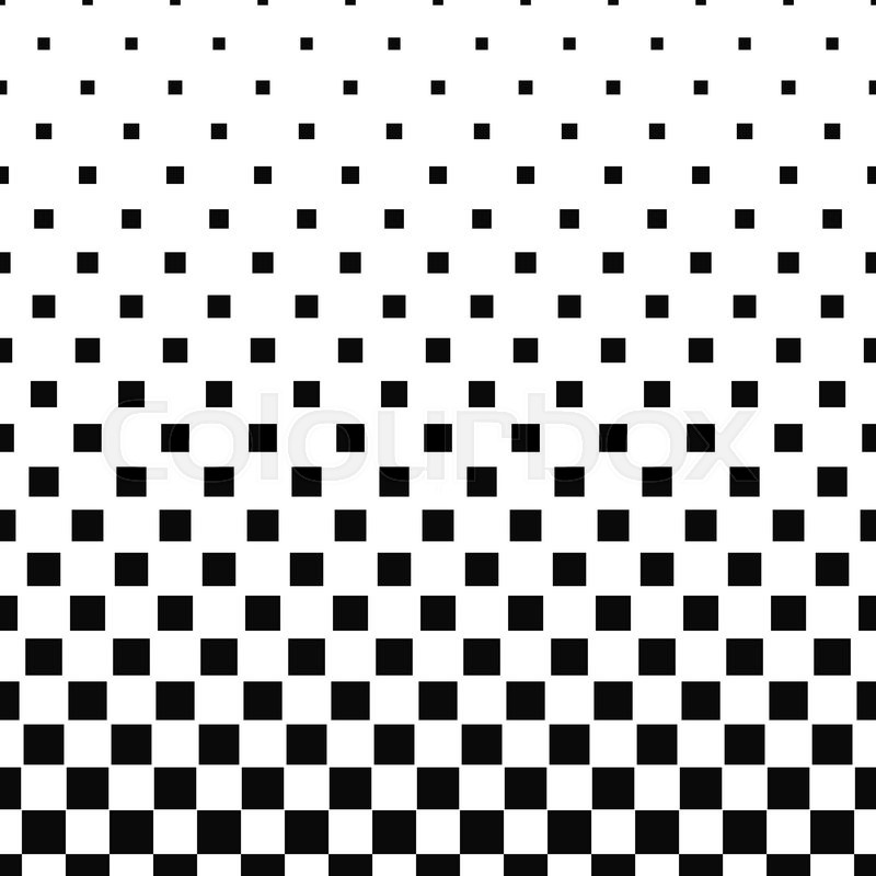 800x800 Seamless Black White Abstract Square Pattern Design Background