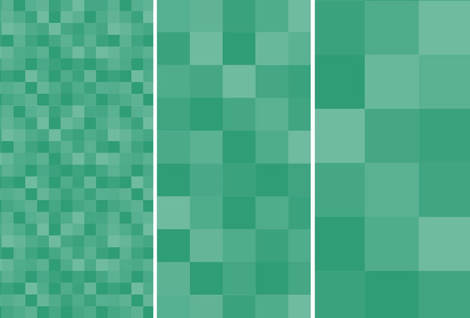 670x453 Square Vector Pixel Pattern