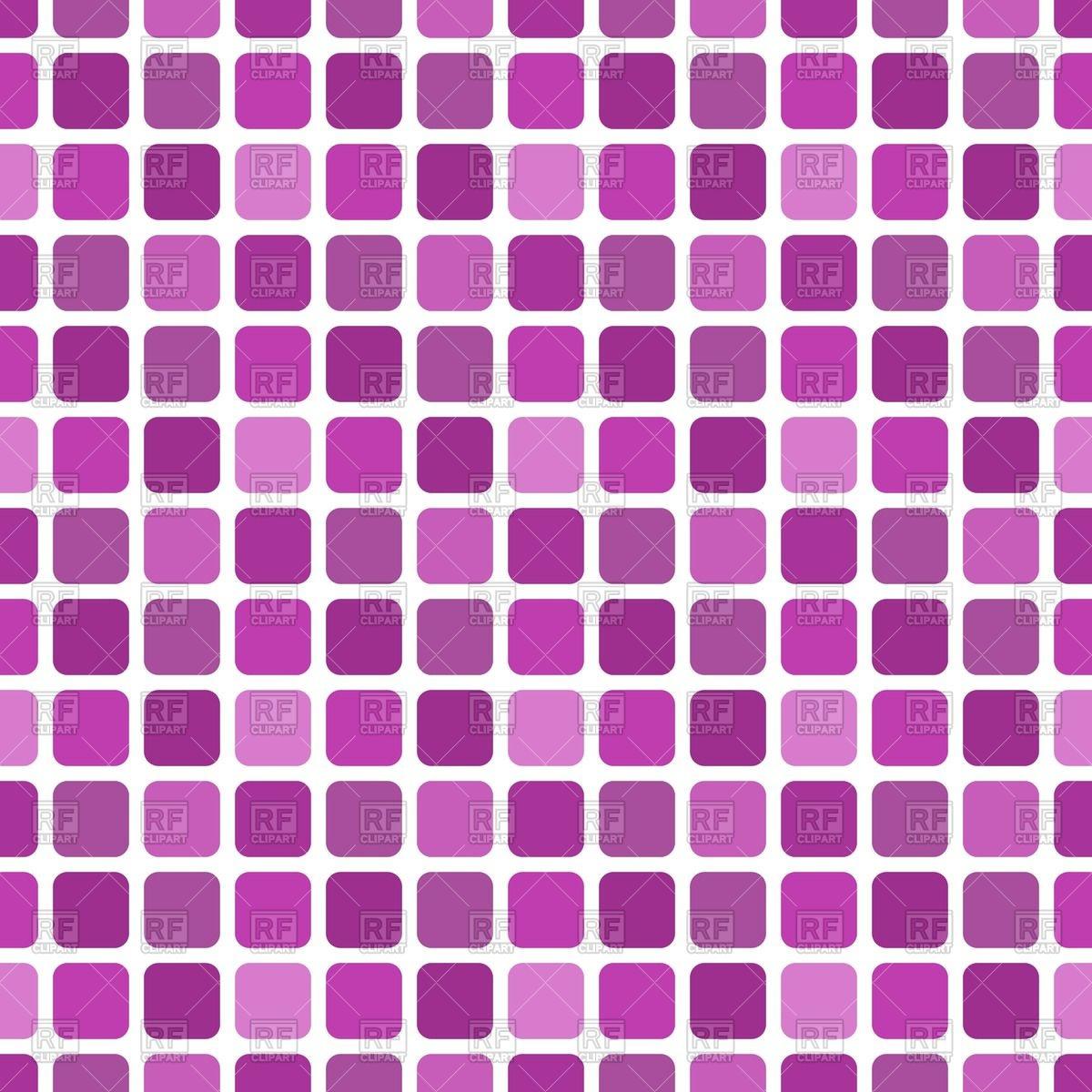 1200x1200 Square Mosaic Seamless Pattern