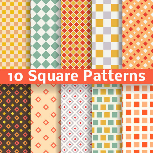 500x500 Square Patterns Vector Material Free Download