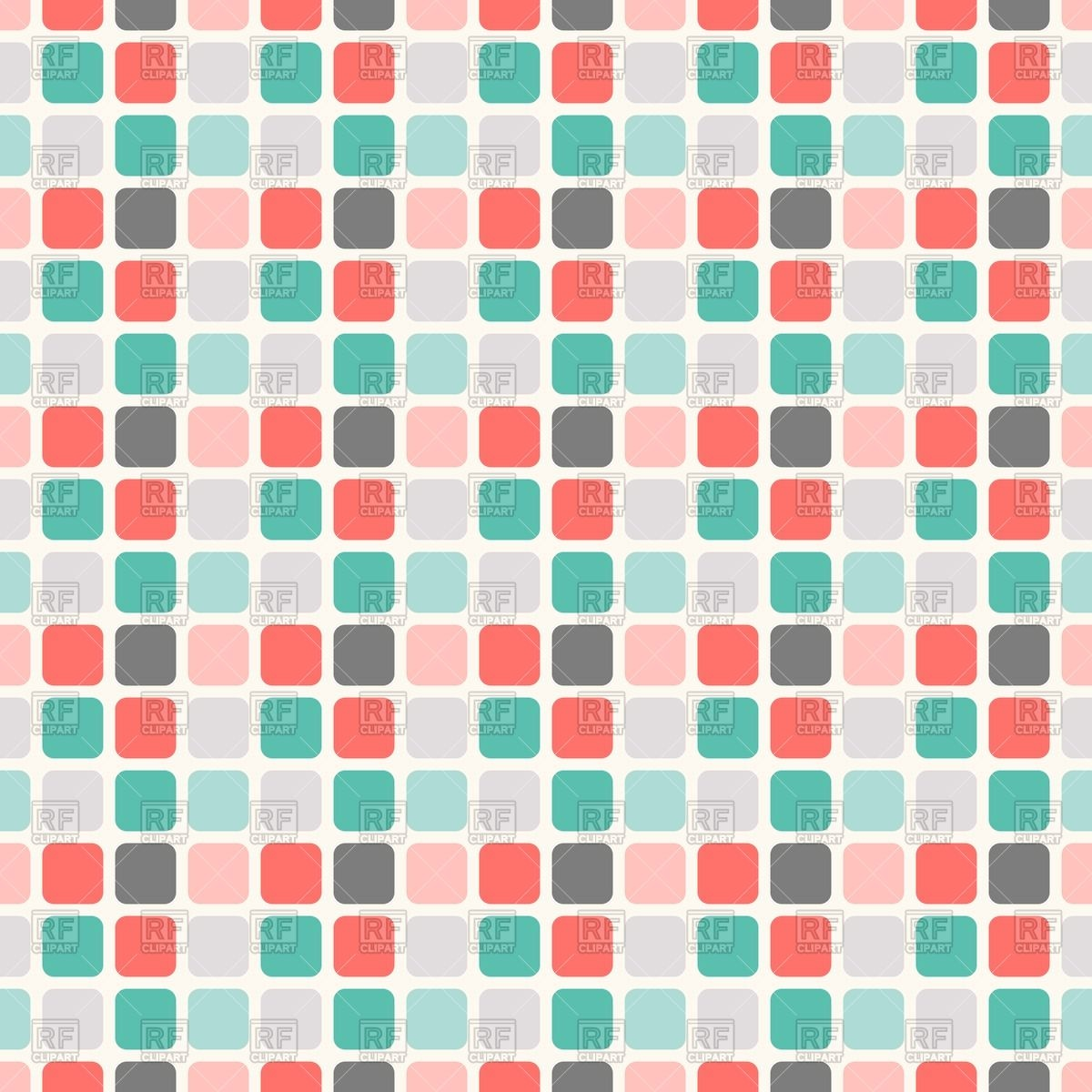 1200x1200 Abstract Geometric Square Seamless Pattern