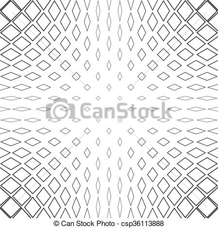 450x470 Black And White Abstract Square Pattern Background. Black And