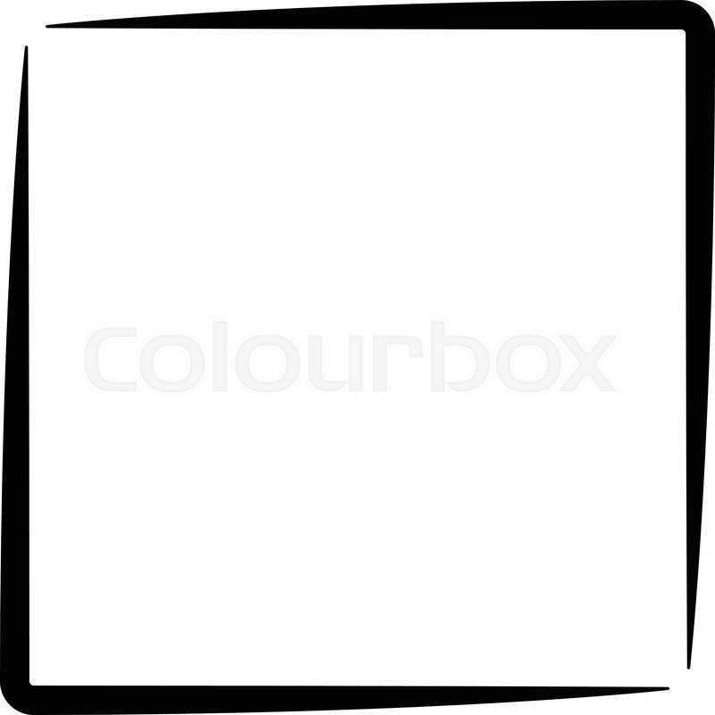 800x800 Square Format Photo Frame, Photo Border