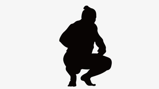 650x366 Squat Position, Squat Man, Vector Character Squat Png And Vector
