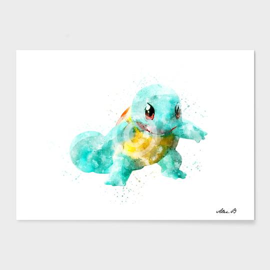 540x540 Pokemon Squirtle Art
