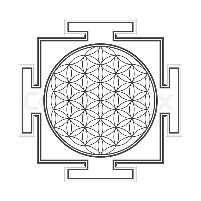 Sri Yantra Vector at GetDrawings com | Free for personal use Sri