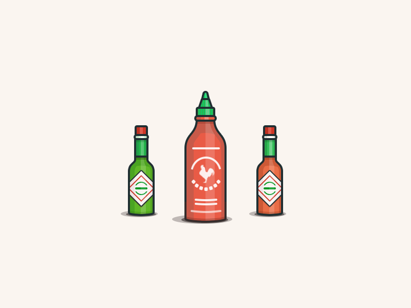 800x600 Hot Sauces By Will Kelly