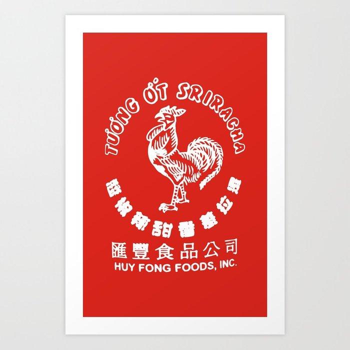 700x700 Sriracha Art Print By Wwwobeyzombiecom Society6