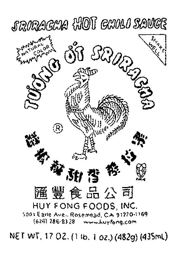 605x855 Sriracha Logos