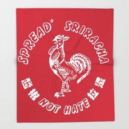 264x264 Sriracha Throw Blankets Society6