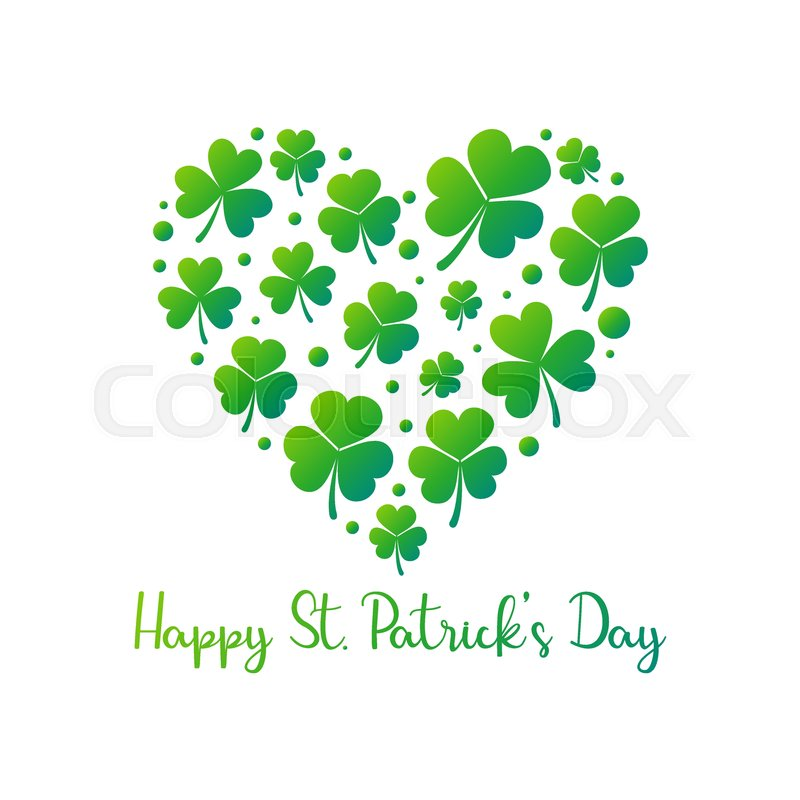 800x800 Happy St. Patricks Day Vector Creative Illustration Or Poster