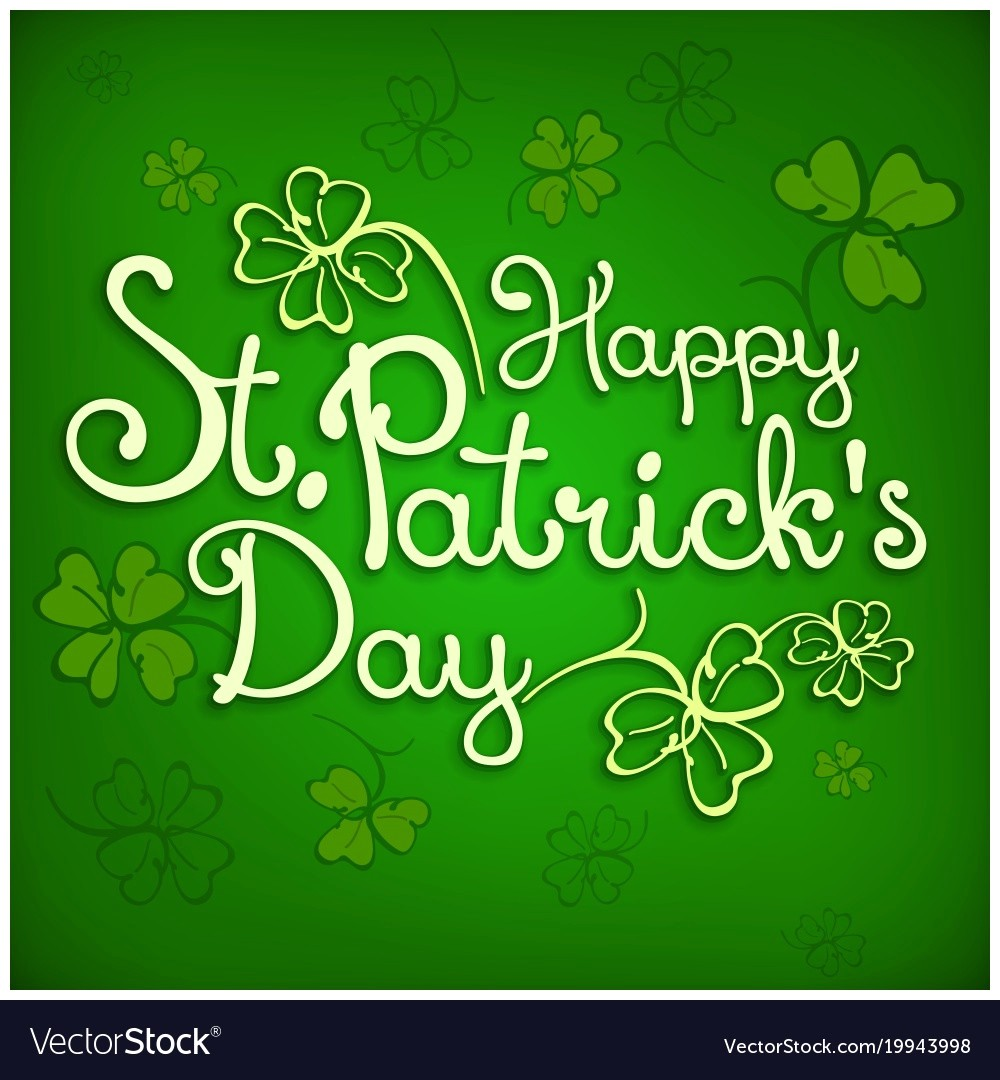 1000x1080 St Patrick Day Poster Vector 19943998 Images