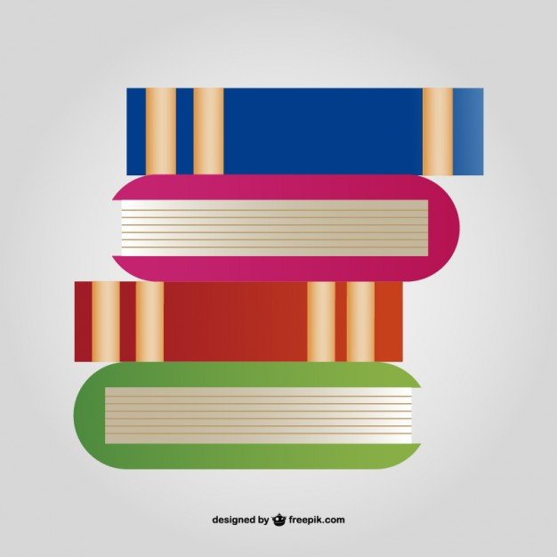 626x626 Stack Of Books Vector Free Download