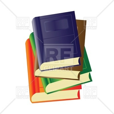 400x400 Stack Of Books Vector Image Vector Artwork Of Objects Valeo5