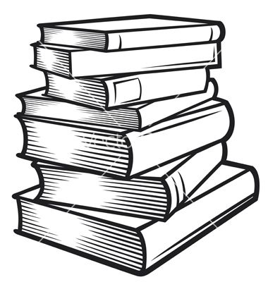 380x400 Stack Of Books Vector 1170954