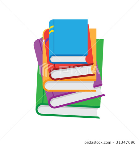 450x468 Stack Of Books Vector Illustration