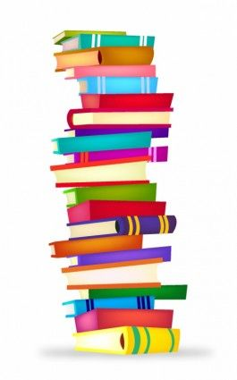 265x425 Clip Art Stack Of Books Free Vectors Have About 5 Free Download