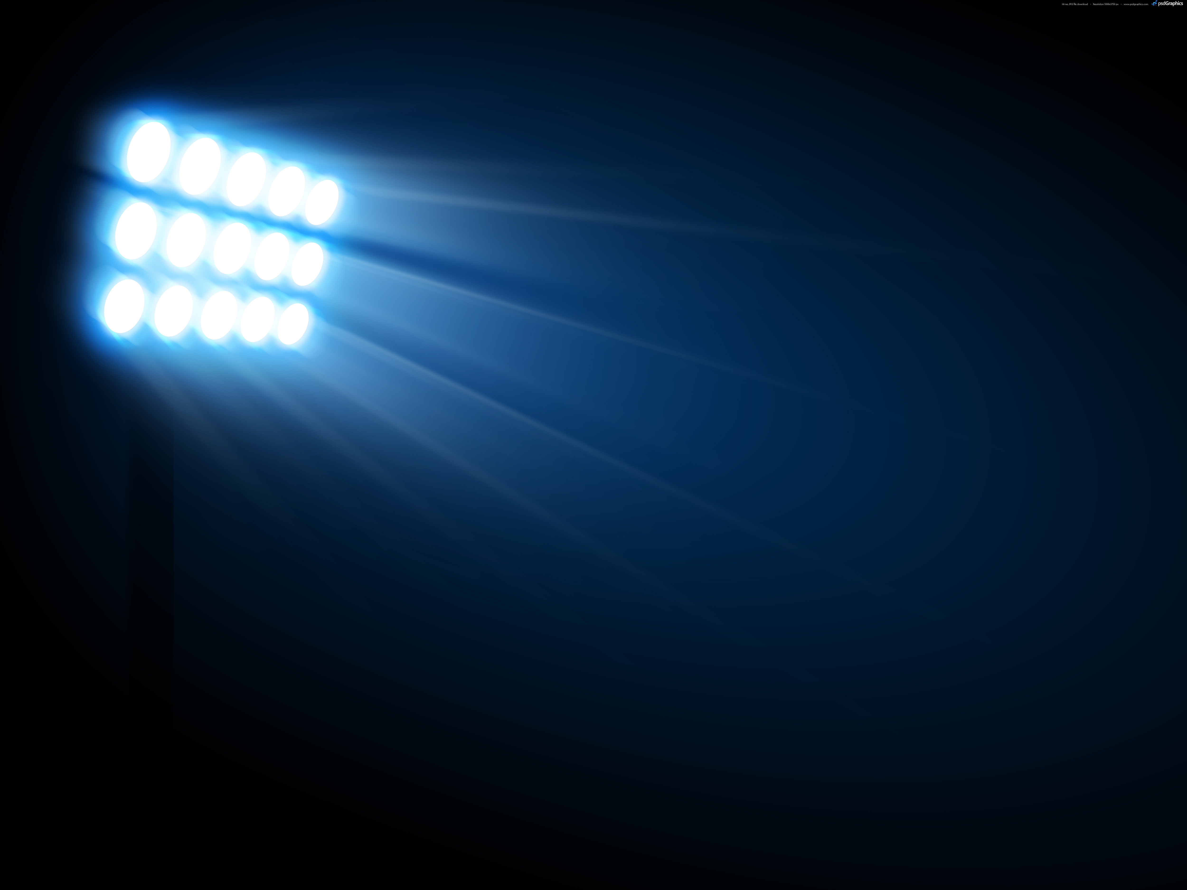 Stadium Lights Vector