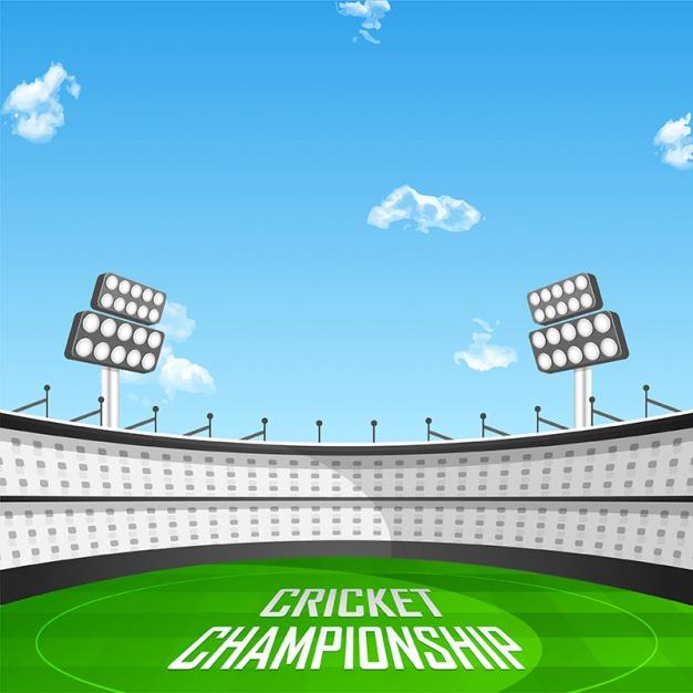 626x626 Fantastic Background Of Cricket Stadium Vector Premium Download