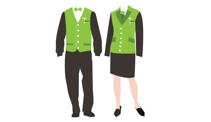 680x395 Staff Uniform Vector Vectorish