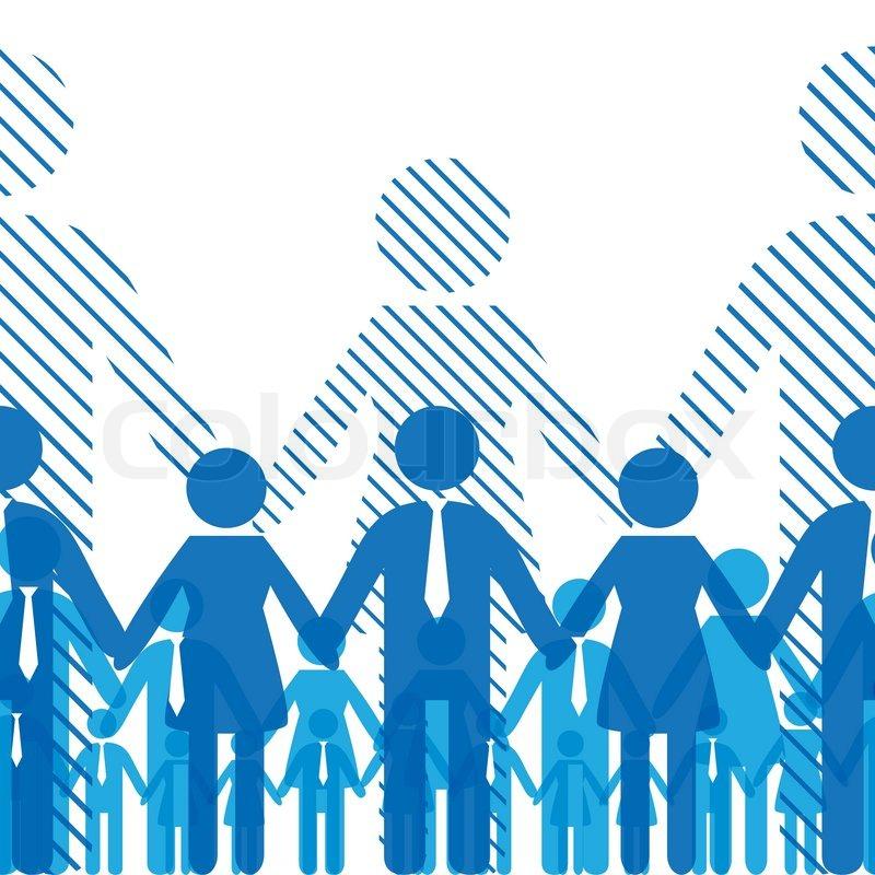 800x800 Team Work Icon. Business Seamless Background, Friendship