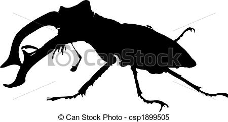 450x242 Stag Clipart Vector
