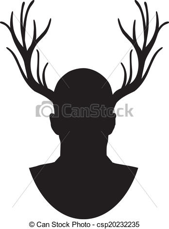 348x470 The Stag Silhouette.