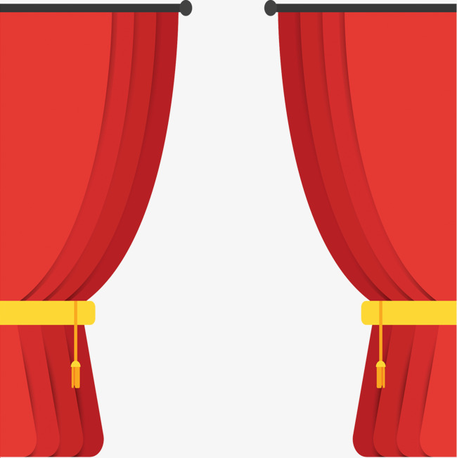 650x651 Stage Curtain Vector Material, Curtain Vector, Stage Curtain