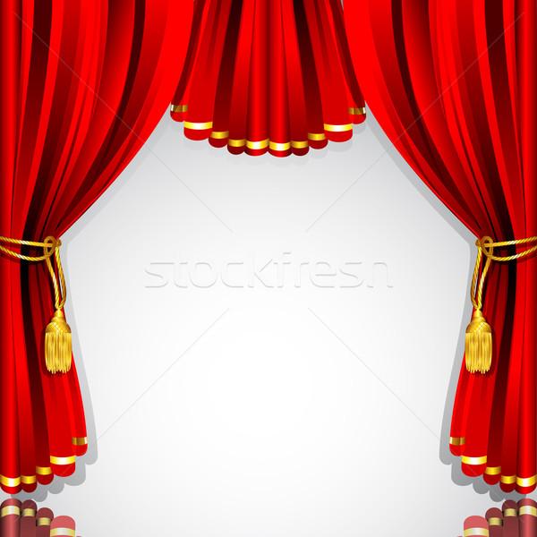 600x600 Stage Curtain Vector Illustration Vectomart ( 1916902) Stockfresh