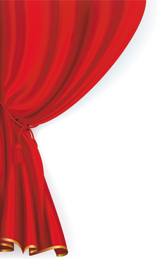 223x368 Stage Curtain Vector Free Vector Download (426 Free Vector) For