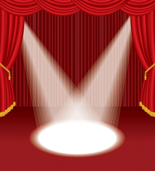 600x664 Stage Curtain Vector Material My Free Photoshop World