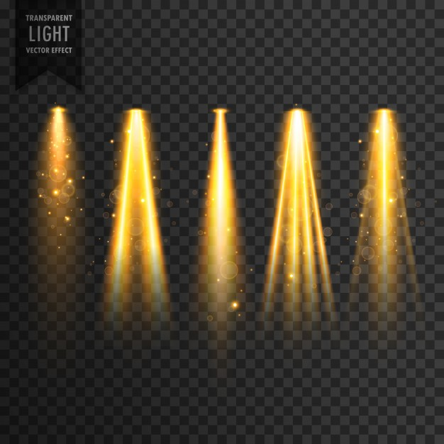 626x626 Realistic Stage Lights Vector Free Download