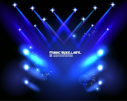 500x401 Stage Lighting Effects 04 Vector Free Vector In Encapsulated