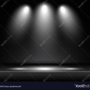 300x300 Stock Photo Stage Light Spotlights Shine Background Easy All
