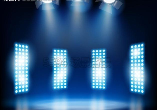 628x442 The Stage Light Vector Picture Of The Spotlight Free Download