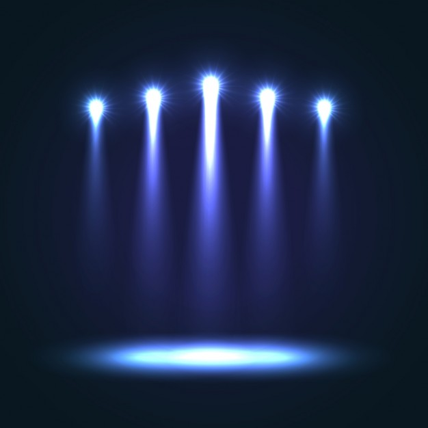 626x626 Blue Stage Background Vector Free Download