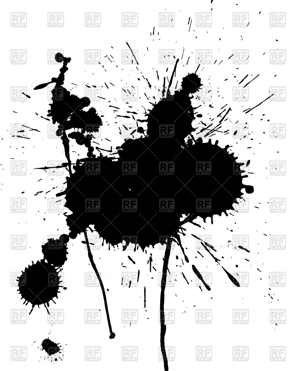 960x1200 Abstract Grunge Stain Vector Image Vector Artwork Of Objects
