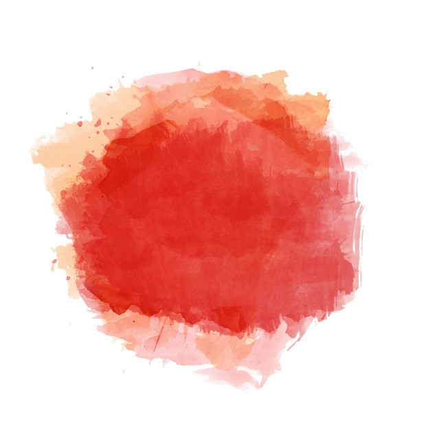 626x626 Ai] Background With Red Watercolor Stain Vector Free Download