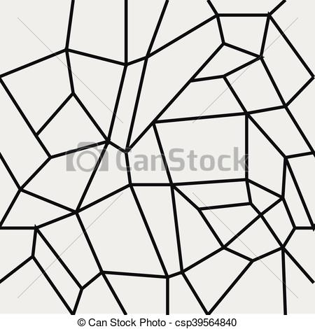 450x470 Geometric Simple Minimalistic Pattern, Rectangles Or Stained Glass