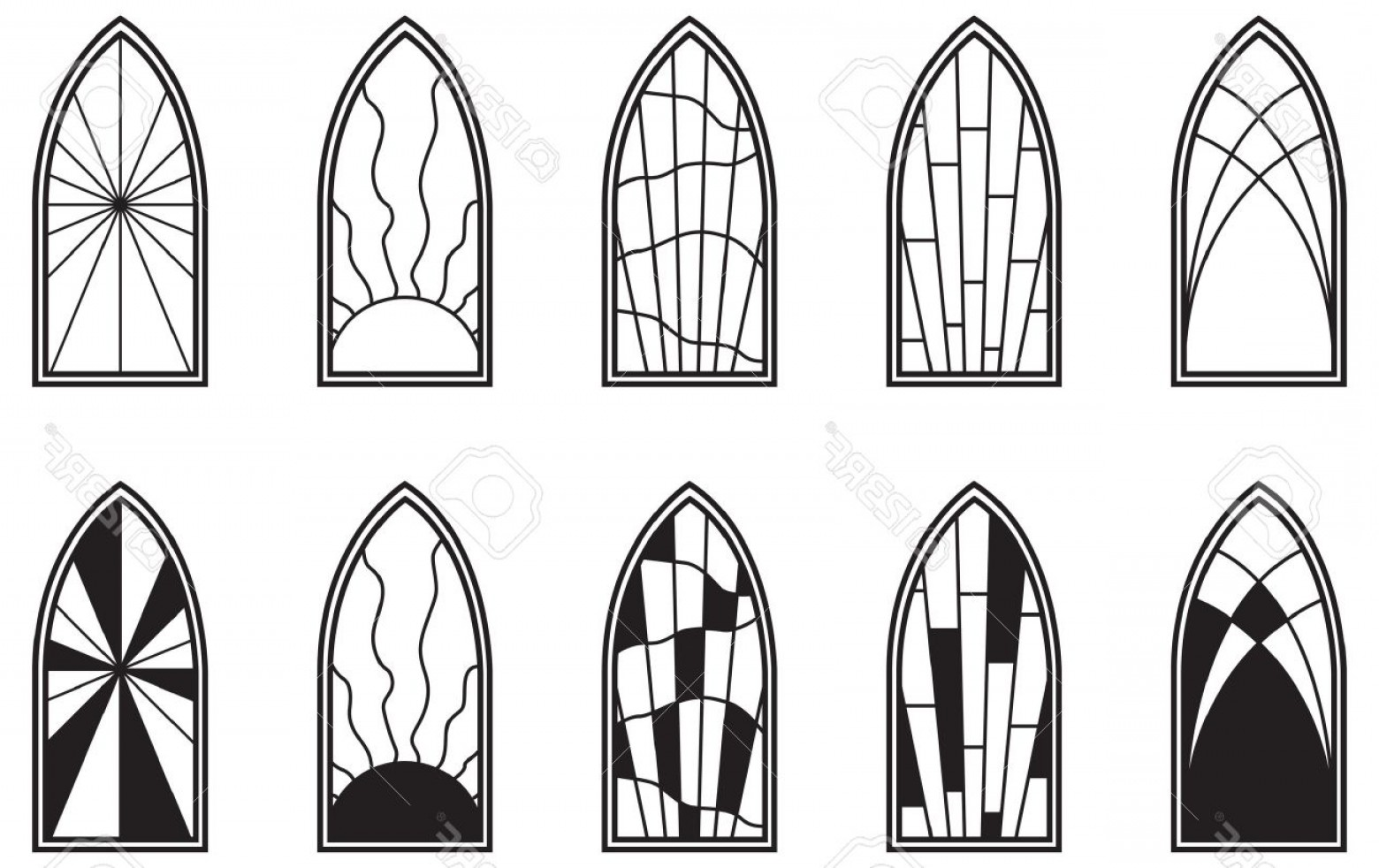 1560x982 Photovector Art Depicting Isolated Stained Glass Window Lazttweet