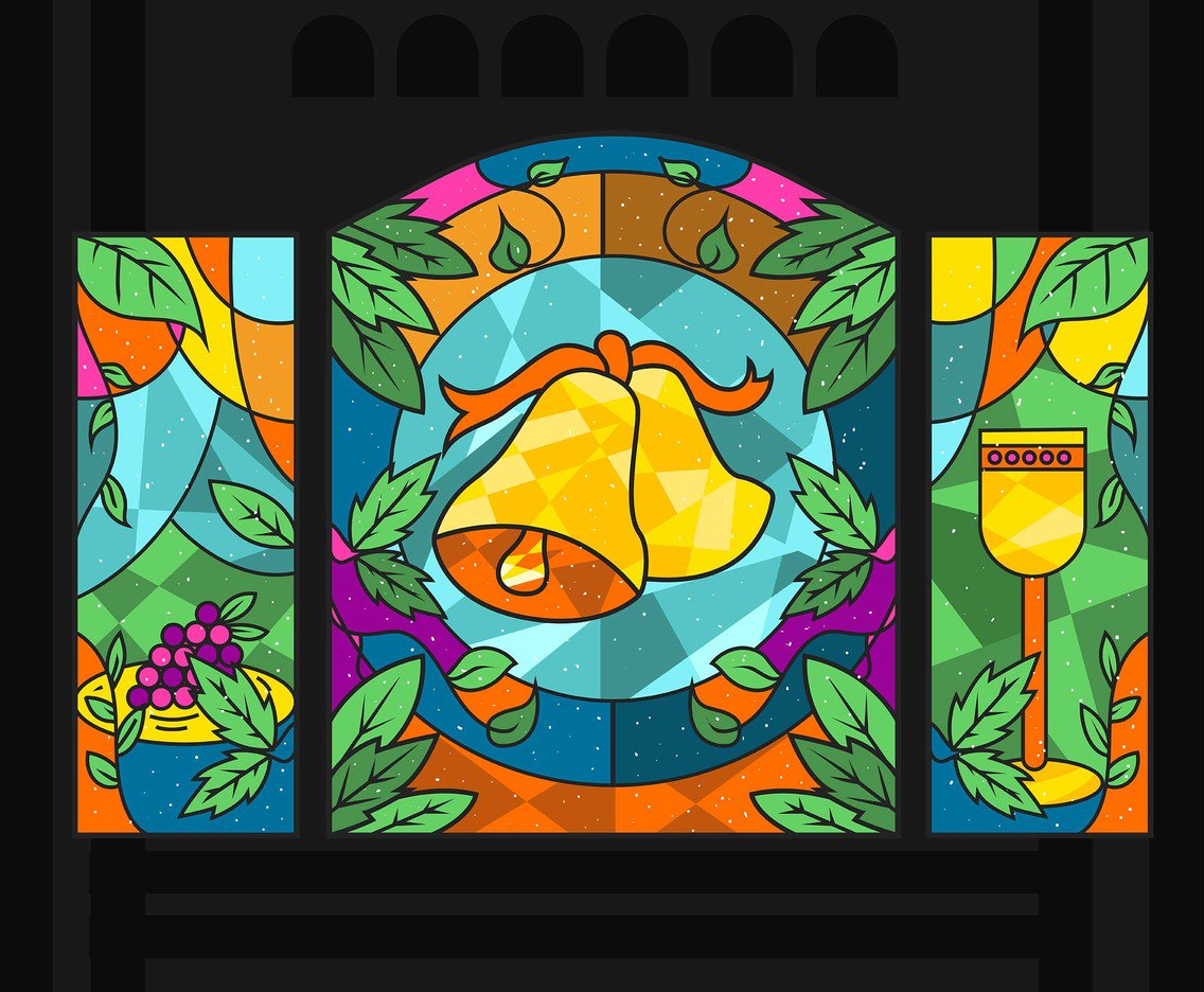 1136x936 Stained Glass Window Vector Art Amp Graphics