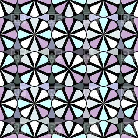 453x453 Stained Glass Window Pattern Vector Image Vector Artwork Of