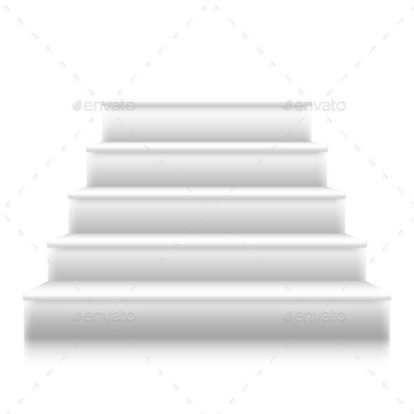 590x590 Photorealistic Vector Isolated Stairs To Stage By Razzers