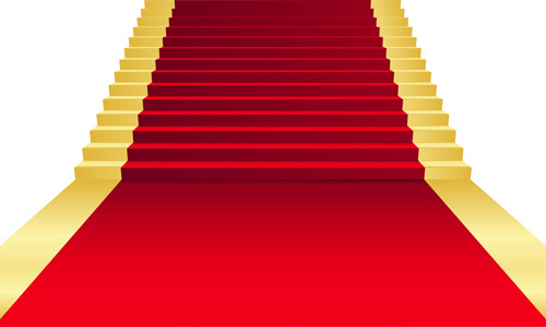 500x300 Vector Red Carpet Stairs Free Vector Download (6,637 Free Vector