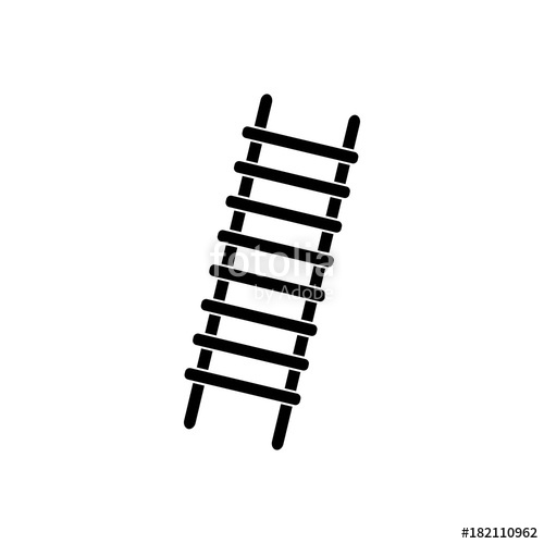 500x500 Stairs Vector Icon Stock Image And Royalty Free Vector Files On