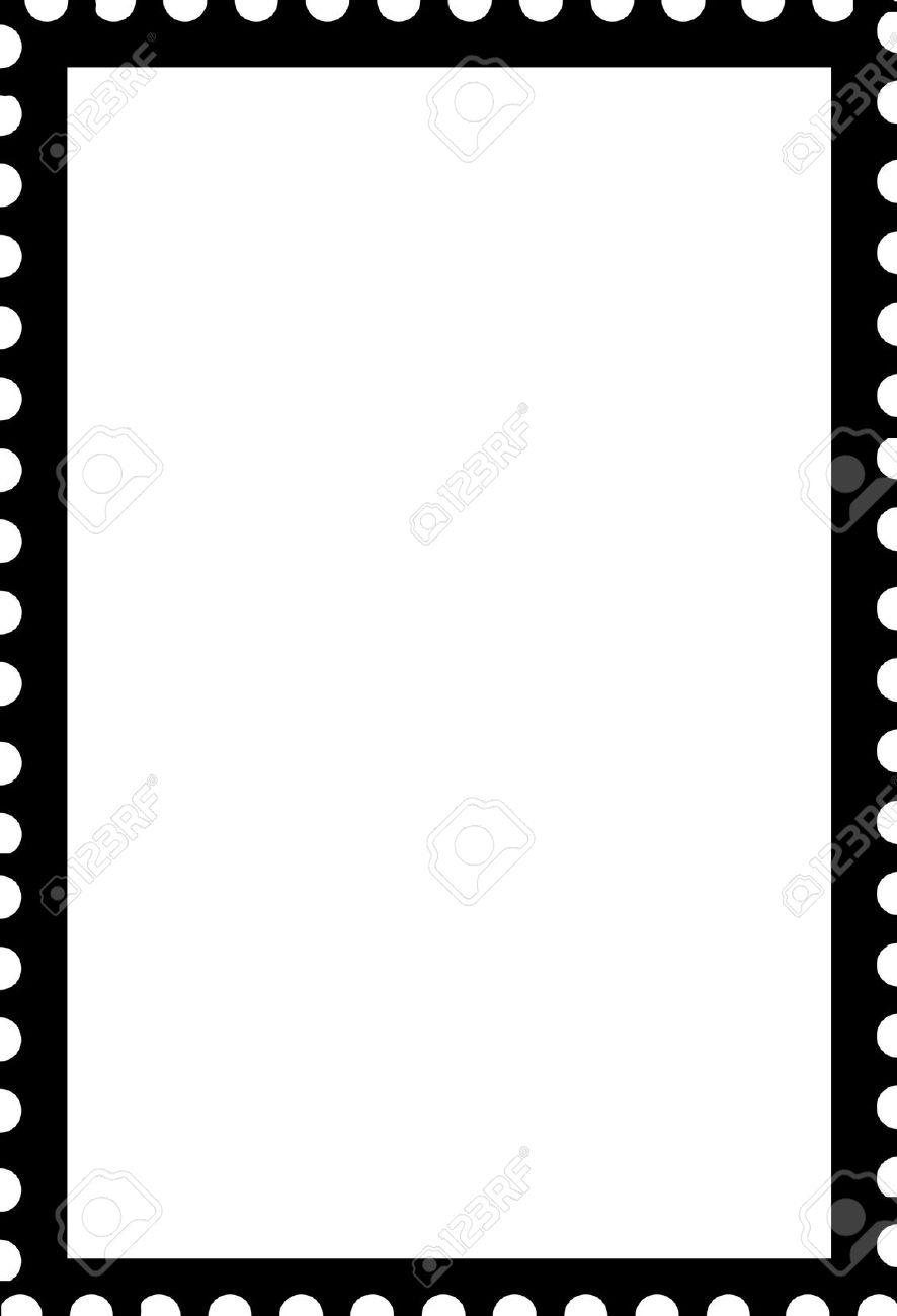 stamp outline