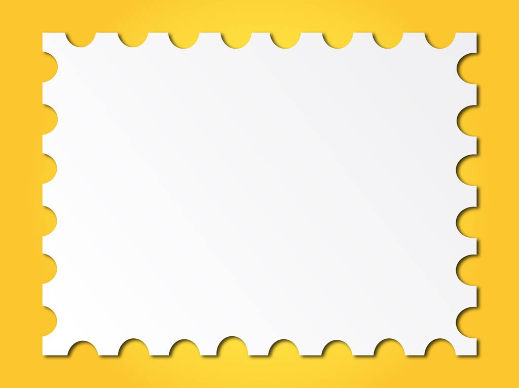 1024x765 Post Stamp Frame Vector Art Amp Graphics