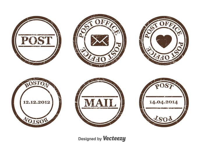 700x490 Postage Stamp Vector