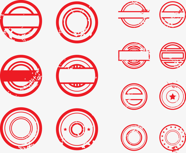 650x536 Vector Red Stamp Pattern, Red Seal, Stamp, Vector Png And Vector